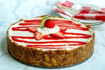 Strawberry Lime Cheesecake Tart Recipe