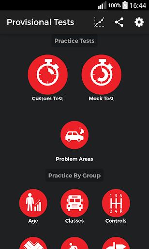 Provisional Tests aka Drive
