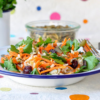 Wild Rice and Wheat Berry Salad