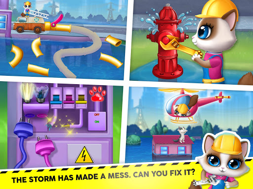 Kitty Meow Meow City Heroes - Cats to the Rescue! 2.0.51 screenshots 13
