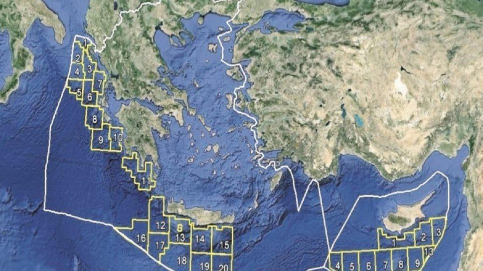 US Embassy in Ankara: Map of Seville connecting Greek-Cypriot EEZ has no  legal basis