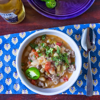 Weight Watchers Slow-Cooker Duck and White Bean Chili