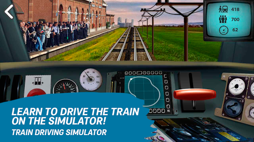 Train driving simulator  screenshots 3