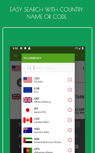 Currency Converter - Exchange Rates App Report on Mobile