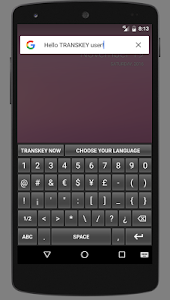 TRANSKEY - translator keyboard screenshot 3