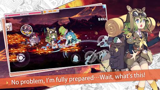 Guns Girl - Honkai Gakuen screenshots 5