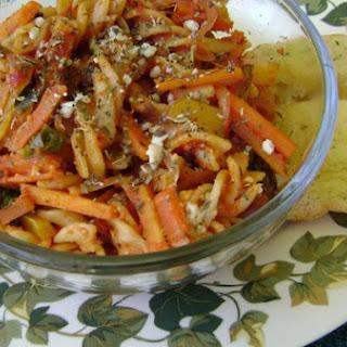 Spicy Herbed Fusilli Pasta