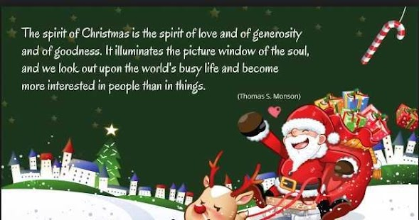 Christmas Quote - náhled