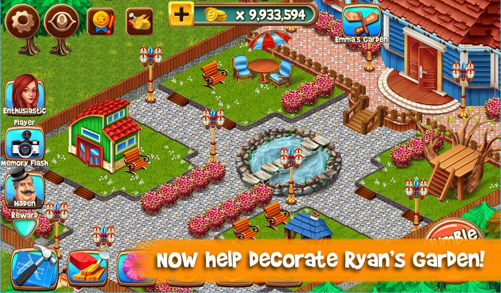 Home Makeover 3 Free Hidden Object Garden Game Android Apps on