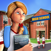 HighSchool Head Girl: Campus Life Simulator