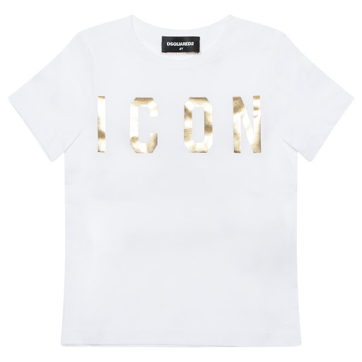 Primary image of DSQUARED2 Gold Print T-shirt