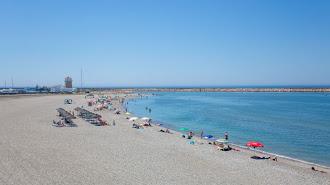 La playa sigue siendo el principal reclamo para los turistas.