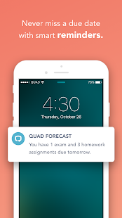 Quad: Your Academic Life, Organized For You.- screenshot thumbnail