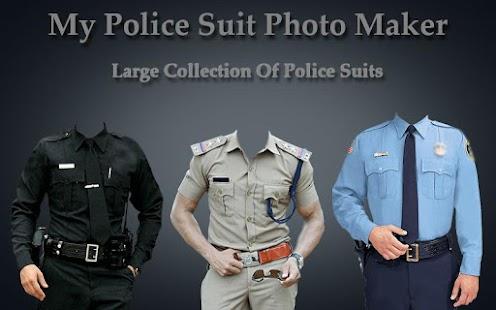 My Police Suit Photo Maker screenshot