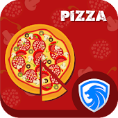 AppLock Theme - Red Pizza