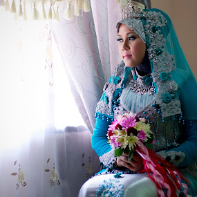 Wedding Portraiture  by Zul Murky - Wedding Bride ( portraiture, wedding, bride )