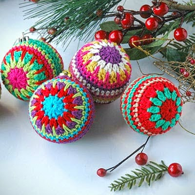 Crochet Treasures 20 Free Christmas Ornaments Crochet Patterns