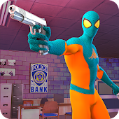 Spider Vegas Crime City Rescue - FPS Shooting Game