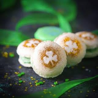 Shamrock Macarons.
