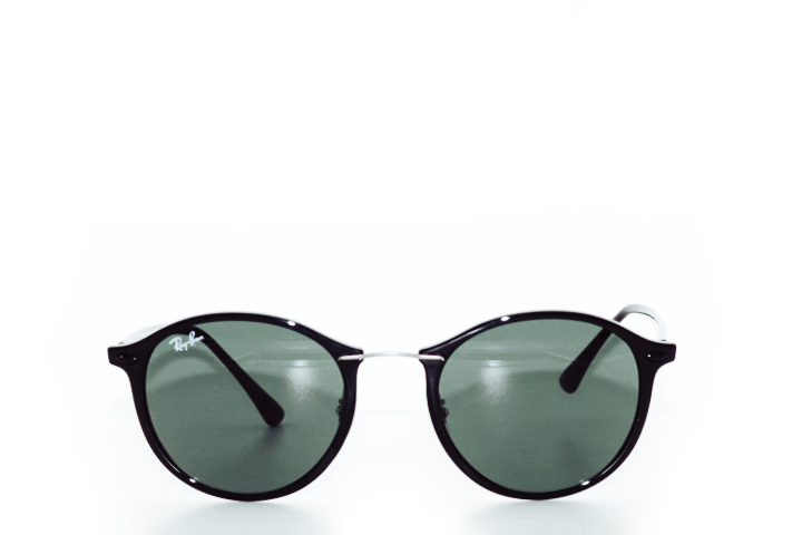 Ray Ban Round Light-Ray Black