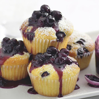Blueberry Coconut Cupcakes