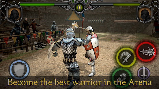 Knights Fight: Medieval Arena Screenshot