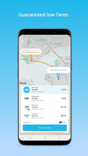 Via: Low-Cost Ride-Sharing 3.7.2 screenshots 2