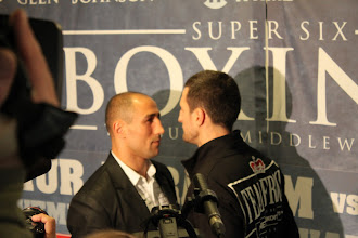 Photo: Arthur Abraham VS Carl Froch 27.11.2010 Hartwall Arena, Helsinki, Finland vacant WBC super middleweight title