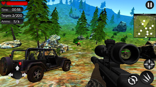 Bear Hunting on Wheels 4x4 - FPS Shooting Game 18 screenshots 2