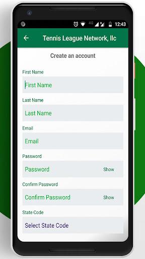 Tennis League Network App 3.18 screenshots 7