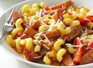 Sausage With Pasta & Herbs Recipe
