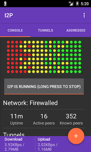 I2P  screenshots 2