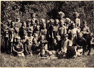 Photo: Ferienlager Glevinerburg 1954