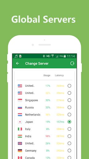 Hotspot VPN - Super Free VPN Unlimited Proxy 2.2.9 screenshots 2