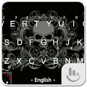 Gothic Skull Keyboard Theme