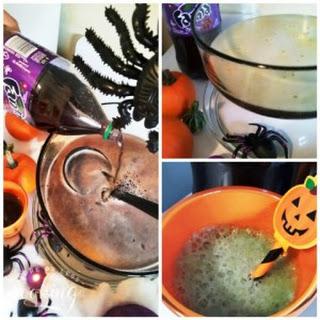 Halloween Purple Pumpkin Eater Punch.