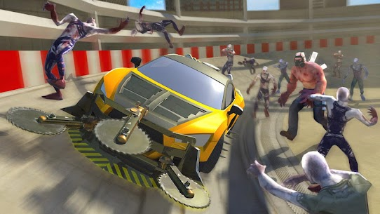 Zombie Smash : Road Kill MOD (Unlimited Money/All Cars Open) 4