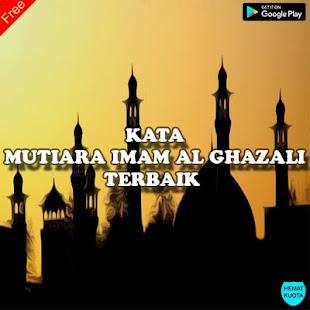 Kata Mutiara Bijak Imam Al Ghazali Terbaik Update Programme Op