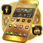 Gold Launcher Theme icon