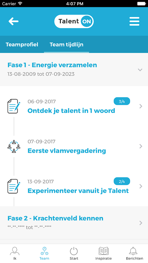 Talent ON- screenshot