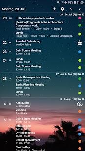 Your Calendar Widget Screenshot