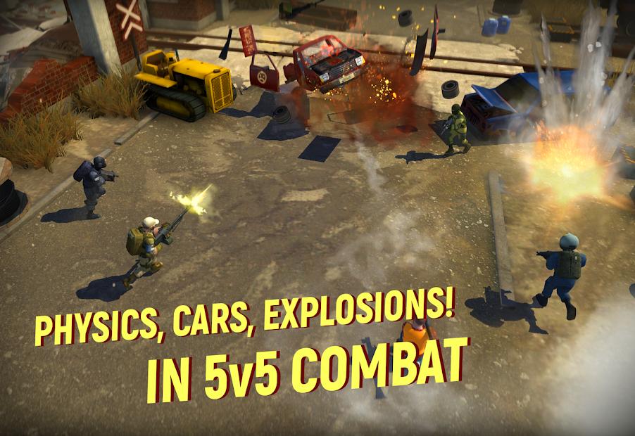 Tacticool - 5v5 shooter Android App Screenshot