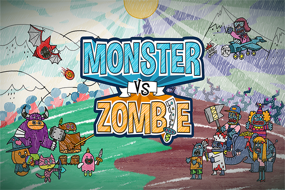 Monster VS Zombie- screenshot
