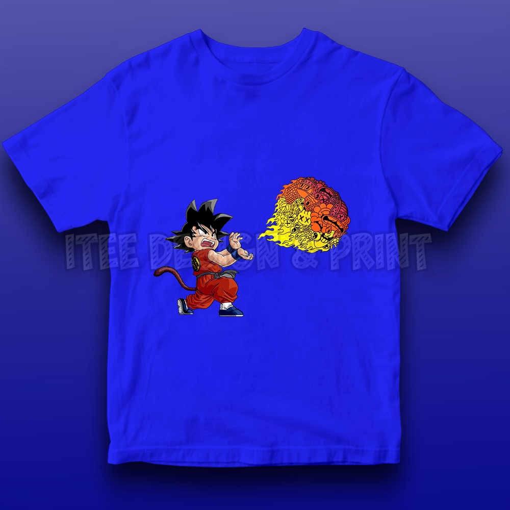 Goku Fireball Kamehameha Doodle 20