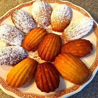 Madeleines a la Julia Child.