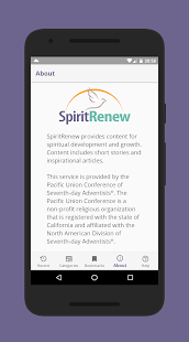 SpiritRenew- screenshot thumbnail