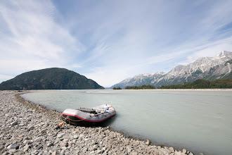 Photo: The Alsek - Tatshenshini confluence