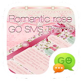 GO SMS PRO ROMANTIC ROSE THEME