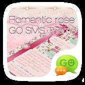 GO SMS PRO ROMANTIC ROSE THEME