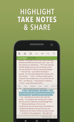Message Bible by Olive Tree screenshot 2